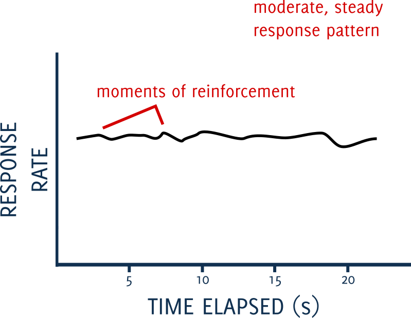variable interval schedules of reinforcement